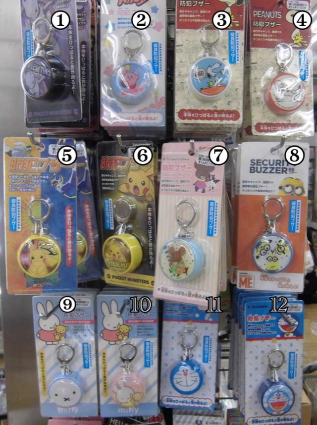 日本預購商品---日本兒童警報器