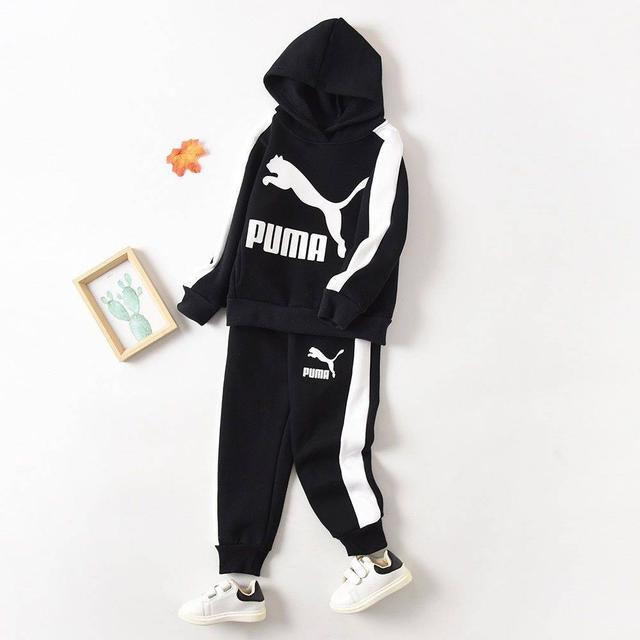 兒童puma連帽套裝
