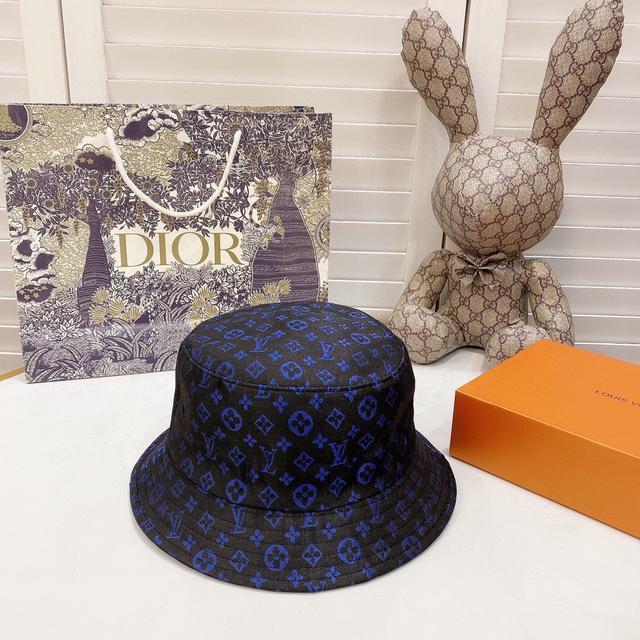 Lv2020新款帽子印字簡約漁夫帽,隨便搭配都超好看!絕對要入手的一款