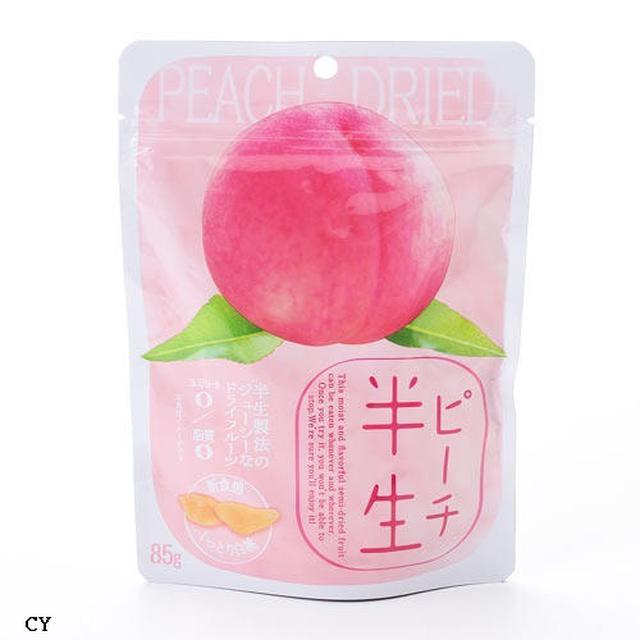 新食感 半生水蜜桃果乾 85g 5入/組