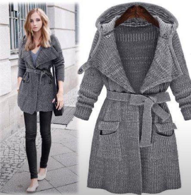 限量商品明星同款韓國寬鬆針織加厚毛衣外套