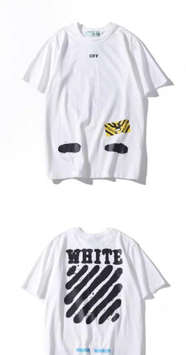 off white 短袖T恤