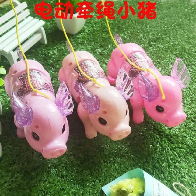 可愛豬豬財富走動燈籠💯💯