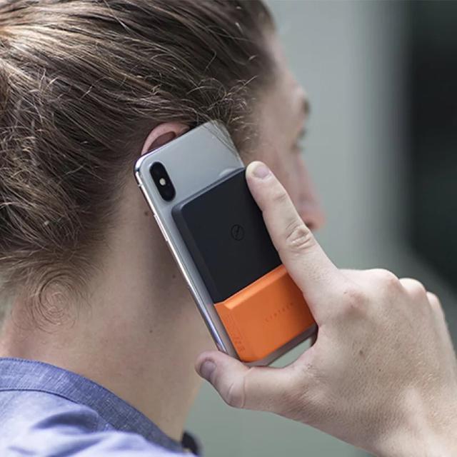 Libtech手機無線充移動電源粘貼便攜背夾式充電寶