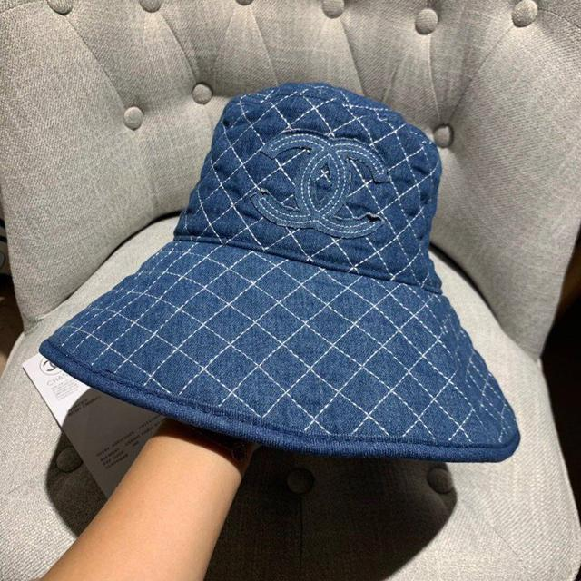 Chanel香奈兒牛仔漁夫帽,官方跑量款,休閒遮陽防曬必備!