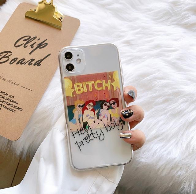 iphone搞怪公主手機殼