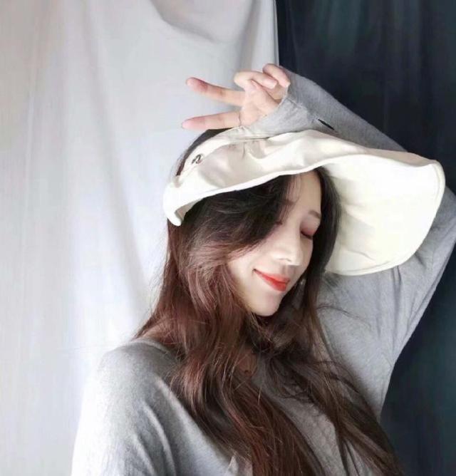 韓風時尚 百搭貝殼防曬帽 精美盒裝~遮陽透氣 便捷收納