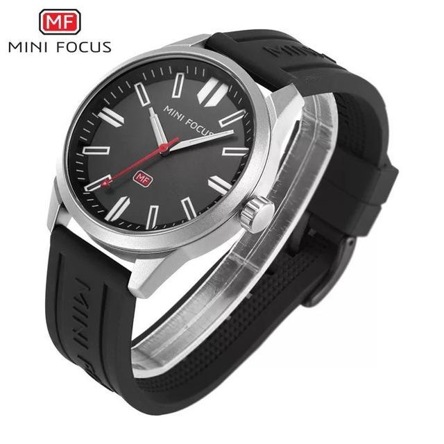 預購 - Mini Focus 精品手錶 銀黑色