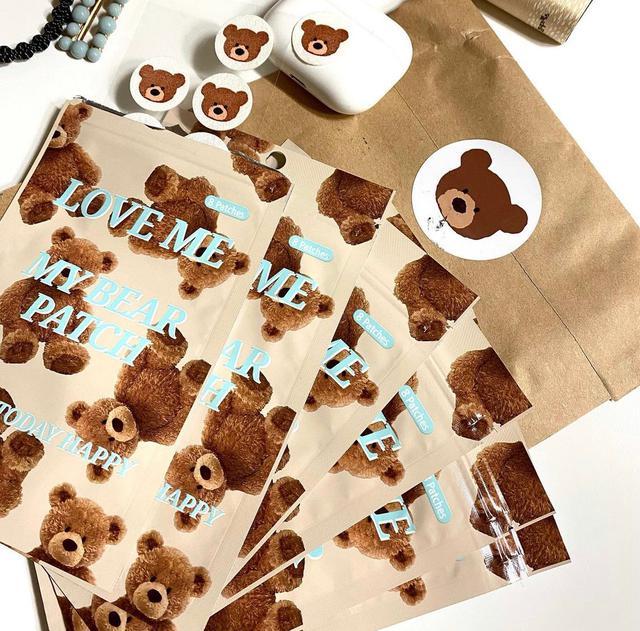 韓國製 小熊 精油貼 口罩貼 香薰貼