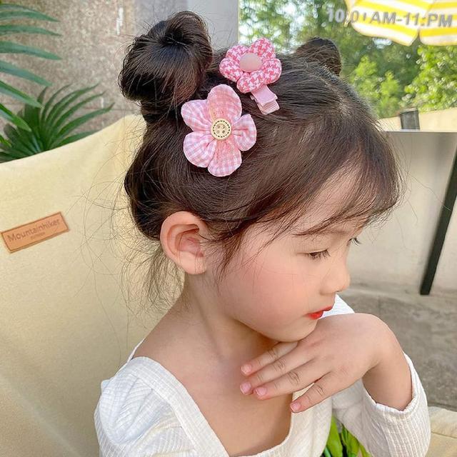 (預購s+) F045-可愛日系花朵蝴蝶結髮飾8件套