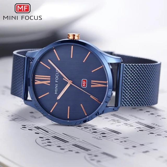 預購 - Mini Focus 精品手錶 深藍色