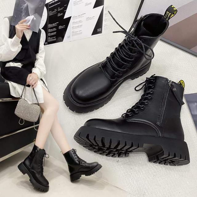 【預購】基本款中筒靴