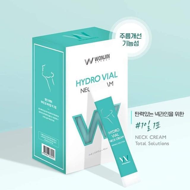 預購~韓國 原辰 WONJIN EFFECT 透明質酸提拉頸霜 4ml*30入/盒