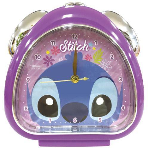 迪士尼 史迪奇 飯糰造型 鬧鐘 時鐘