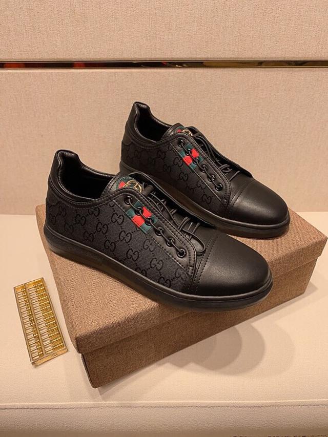 【GUCCl】古奇最新男士休闲鞋最新元素潮爆全球,官网火爆热卖