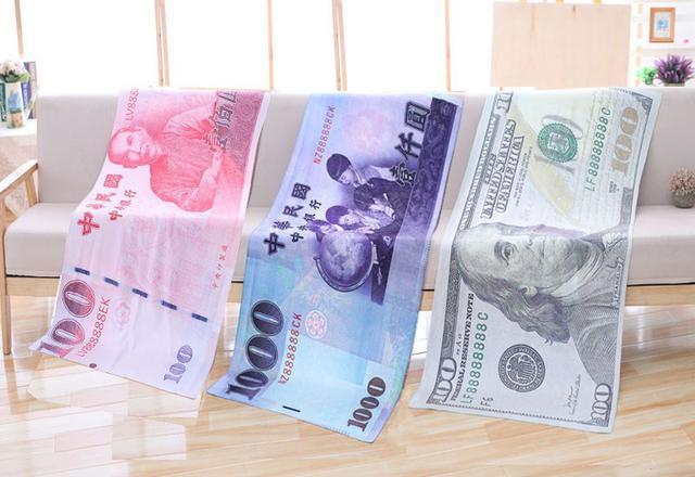 幣紙浴巾/毛巾