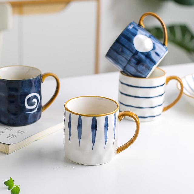 🧡日式復古ins 陶瓷馬克杯
