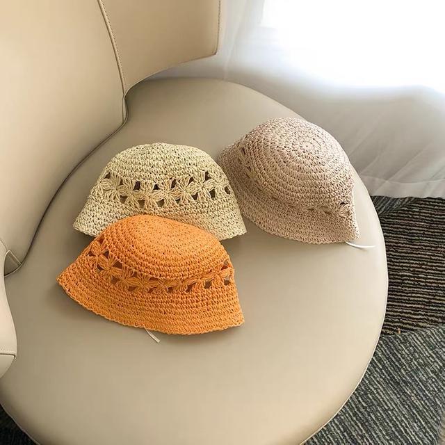 韓風兒童草帽
