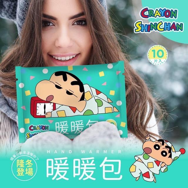 台灣授權正版百貨蠟筆小新~暖暖包