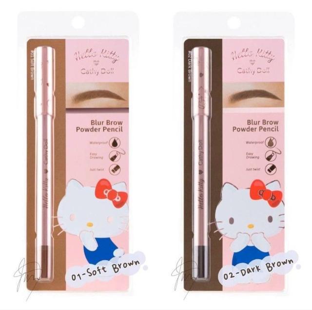 泰國Cathy Doll  防水轉式眉粉筆-0.37G
