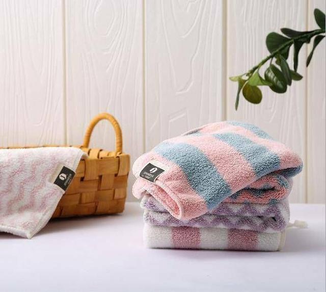珊瑚絨格紋毛巾🎋現貨👉🏼Minoz(米諾子)