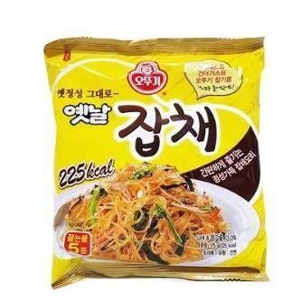 不倒翁韓國雜菜炒粉絲75g