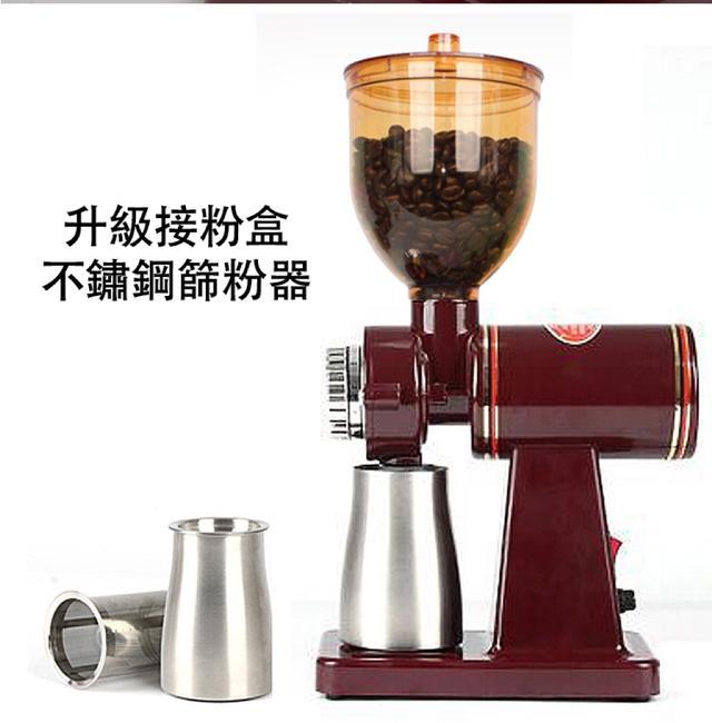 110V 家用升級不鏽鋼咖啡機研磨器 咖啡豆研磨機