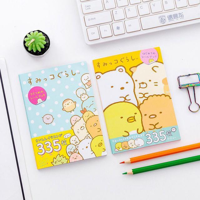 9/21收單♥角落生物手帳裝飾貼紙(一組4本)♥
