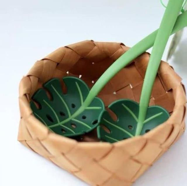 創意樹葉瀝水勺