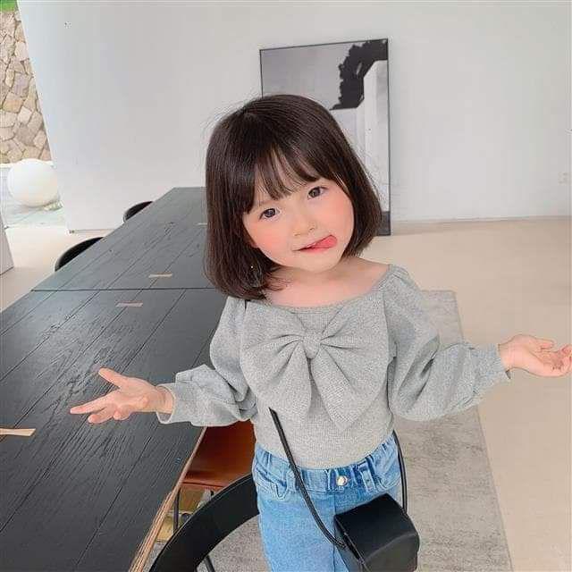 【預購】兒童蝴蝶結上衣