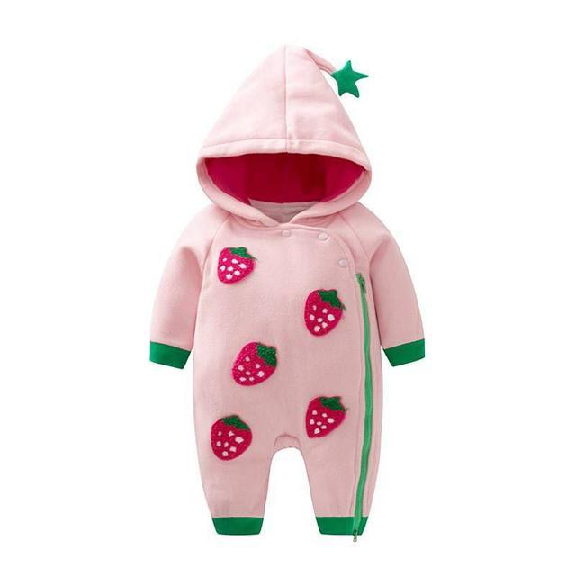 【現貨】寶寶草莓爬服