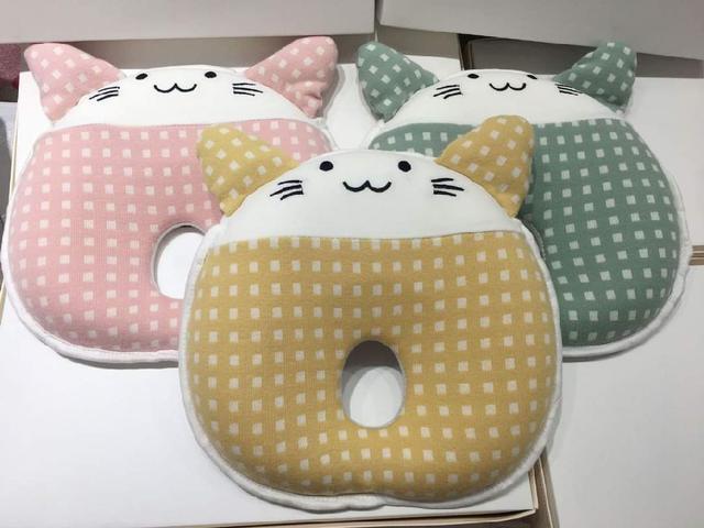 【預購】寶寶防扁頭乳膠記憶枕