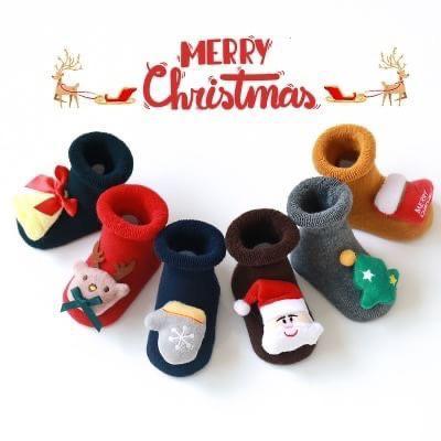 ❤️可愛聖誕公仔襪*6雙❤️