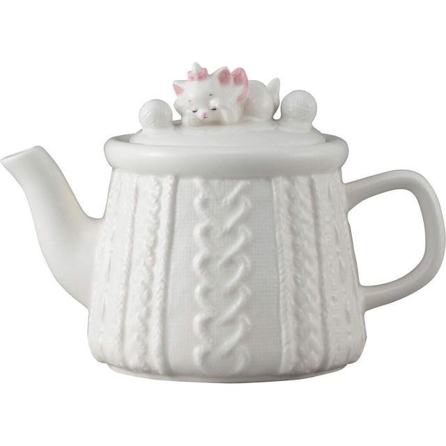 現貨 日本 迪士尼 瑪麗貓 造型茶壺