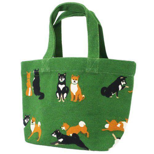 柴犬 帆布 手提袋 便當袋