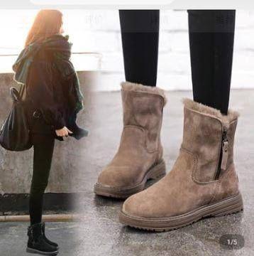 預購商品11/22結單  冬季加厚保暖馬丁短靴
