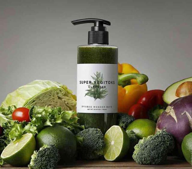 韓國正品👍Wonder Bath 蔬菜深層潔膚卸妝洗面乳