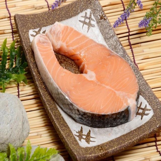 頂級鮭魚切片 400公克一片
