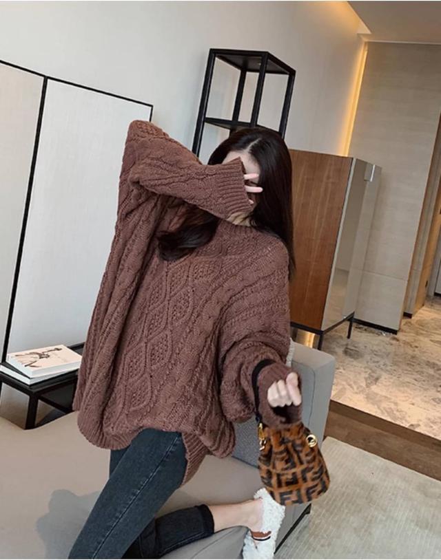 🏷️#韓版衡量款新品🏷️  [ 麻花大毛衣 ]