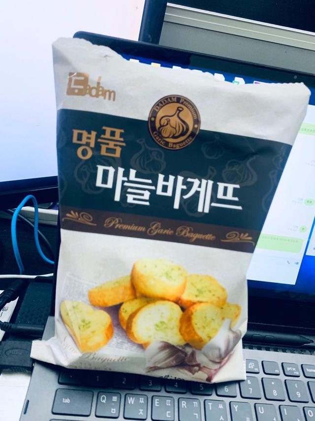 大蒜奶油餅乾韓國Dadam