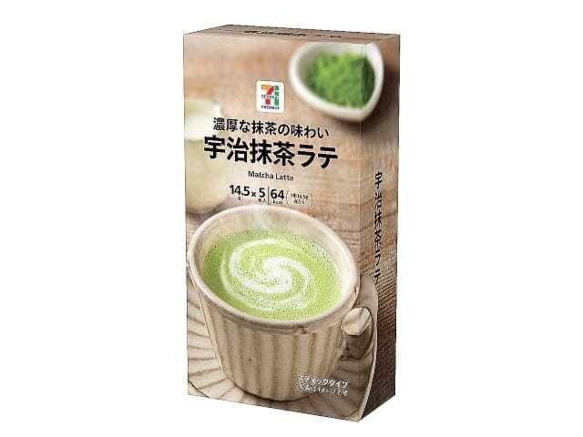 日本 7-11限定-宇治抹茶拿鐵 一盒五入