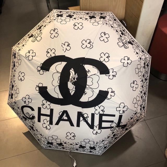 香奈儿三折雨伞太阳伞