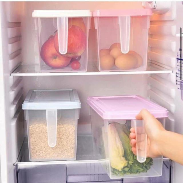 冰箱雜貨萬用收納盒2入