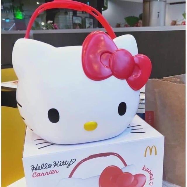 (預購)泰國麥當勞限量Hello Kitty手提萬用置物籃
