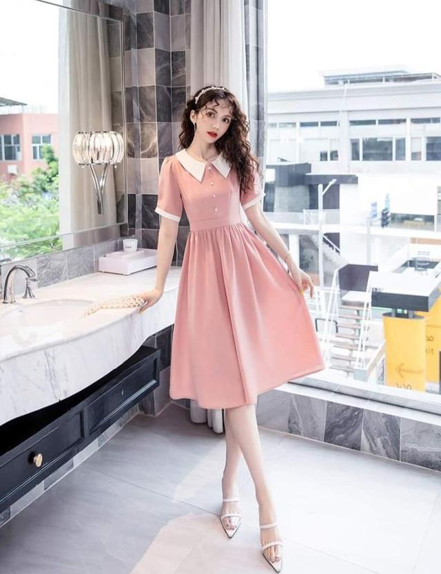 【預購】法式復古翻領洋裝