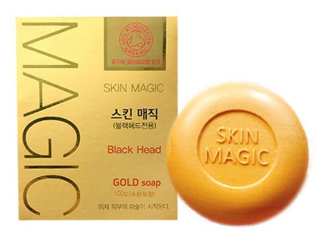 韓國 Sungwon Skin Magic 黃金魔法奇蹟粉刺導出皂 100g