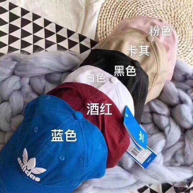 S034-新款 Adidas 阿迪達斯 軟頂 棒球帽
