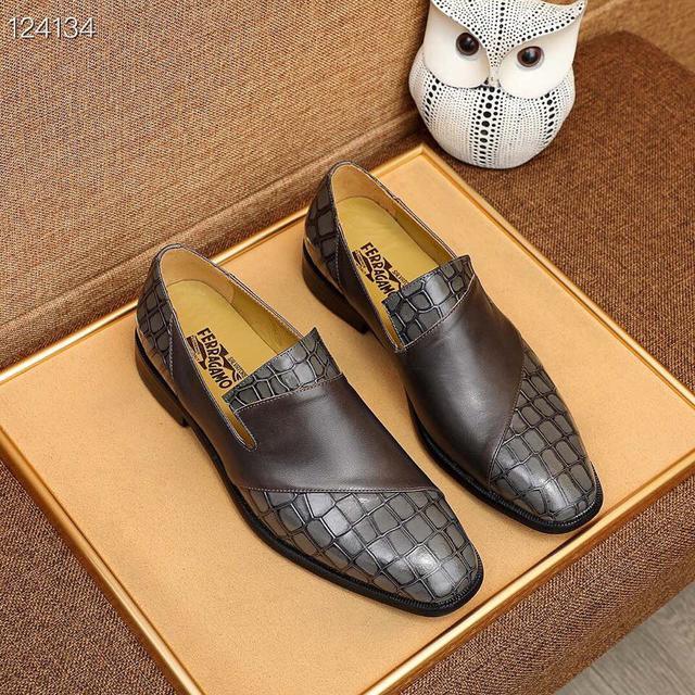 頂級原單 【Ferragamo/菲拉格幕】專櫃最新款商務休閒鞋