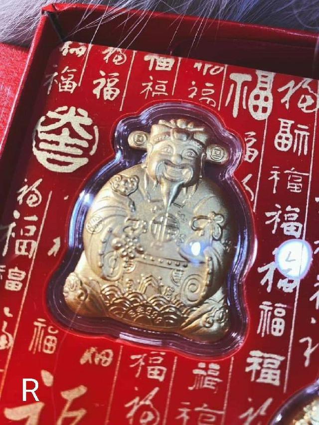 (預購e) 五福臨門 足金擺設 禮盒 附貴金屬保卡