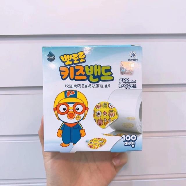 韓國兒童 醫用創口貼 OK繃 Pororo 寶露露小企鵝 100枚入